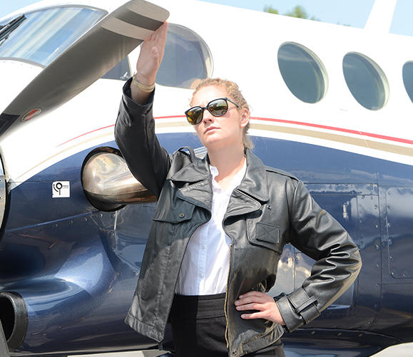 Lady Aviator